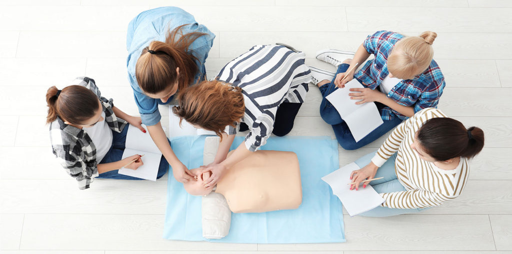 Teaching CPR - EMC CPR Training - CPR-AED-First Aid Classes